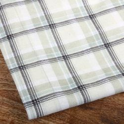 Winter Nights 140 GSM Plaid Queen/ King size Flannel Sheet Set