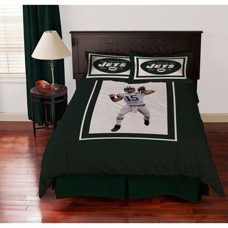 New York Jets Tim Tebow 4 piece Comforter Set