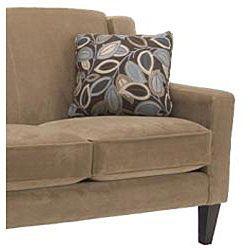 Flamingo 3 piece Camel Velvet Sofa and Two Chair Set