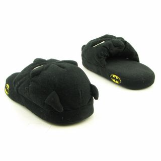Batman Boys Scuff Youth Black Slippers