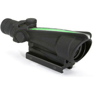 ACOG with Illuminated Green Chevron .308 Reticle