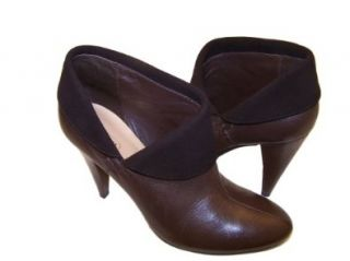 Womens Annika Brown Soft Leather Ankle Boots (8.5M US Women) Shoes