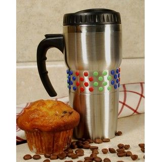 Stainless Steel 2 piece Double wall Coffee and Travel Mug