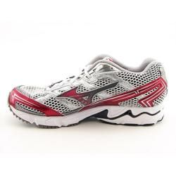 Mizuno Womens Wave Elixir 5 White/Silver Running Shoes (Size 8