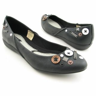 Diesel Adamant Womens Black Flat Shoes (Size 8.5)