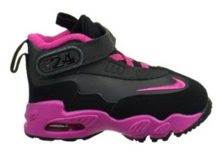 Griffey Max Litle Kids Shoes Night Stadium/Fusion Pink Black Shoes