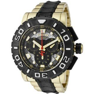 Invicta Mens 6314 Reserve Collection Chronograph 18k Gold Plated and