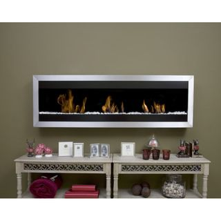 Bio Blaze Square Wall mounted Fireplace