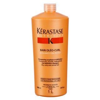 Kerastase Bain Oleo Curl 34 ounce Shampoo