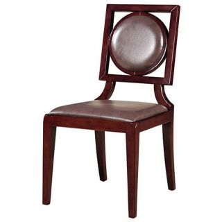Baker Leather Dining Chairs (Set of 2)