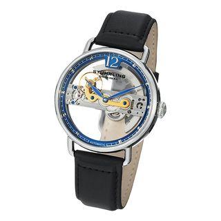 Stuhrling Original Mens Aristocrat Bridge Automatic Skeleton Watch