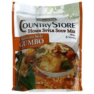 Williams Country Store Soup Mixes, Louisiana Style Gumbo, 8 Ounce