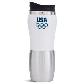 BMW Team USA Olympic Insulated Travel Mug    Automotive