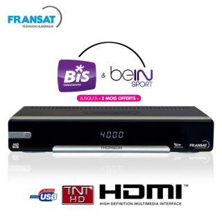 THOMSON THS 802 Terminal FRANSAT HD   Achat / Vente RECEPTEUR TV TNT