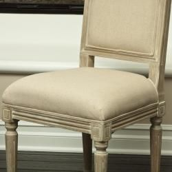 Weathered Oak Dining Chairs (Set of 2)