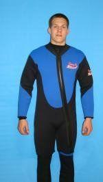 New 2 Piece 7 Mm Farmer John Style Wetsuit, Size 5Xl, Surf