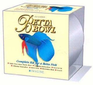 2PK Betta Bowl Kit 1/2 Gal (Catalog Category Aquarium