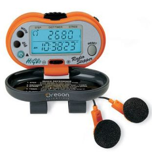 Oregon Scientific PE316FM Pedometer with Radio