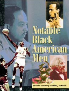 Notable Black American Men Book I Jessie Carney Smith 9780787607630
