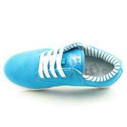 VLADO Mens Spectro 3 Blue Turquoise Jerkin Shoes (Size 10