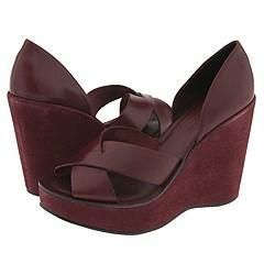 Kork Ease Donna Burgandy Buff