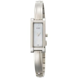 Citizen Womens Eco drive Mother of Pearl Bangle Watch