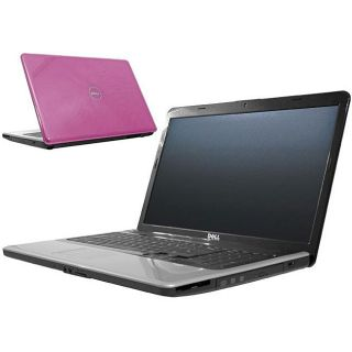 Dell Inspiron 1750 Core 2 Duo 2GHz 320GB 4GB Pink Laptop (Refurbished
