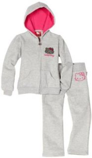 Hello Kitty Girls 2 6x Fashionable Fleece Active Set With