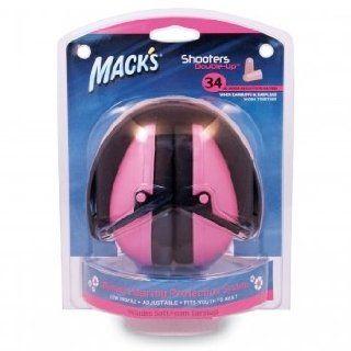 Macks Shooters Double Up Earmuffs   Pink: Health