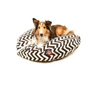 Majestic Pet Chocolate Zig zag Round Pet Bed Today $59.99   $89.99