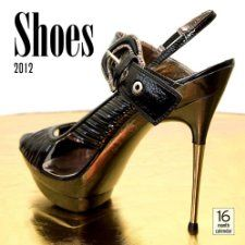 2012 Shoes Wall calendar Moseley Road Inc. 9781592589432