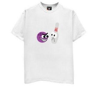 Cartoon Bowling Ball & Pin T Shirt Clothing