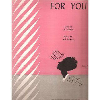 Sheet Music 1948 For You Al Dubin Joe Burke 226: Everything Else