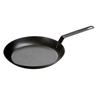 Lodge Seasoned Steel Carbon 12 inch Skillet