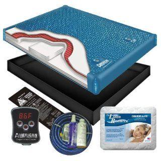 Ultra Waveless Lumbar Waterbed Mattress Kit   King Home
