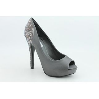 Steve Madden Womens Playy R Gray Dress Shoes