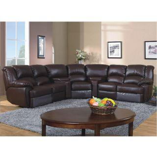 Lorimar 5 piece Leather Reclining Sofa Set