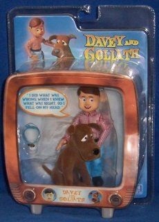 Davey and Goliath Sitting Action Figure Set Toys & Games