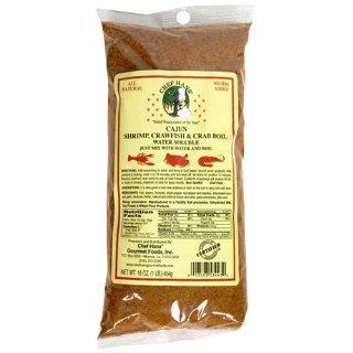 Chef Hans Cajun Shrimp Crawfish and Crab Boil, 16 Ounce Bags (Pack of