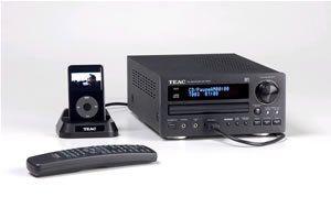 TEAC CR H227 Hi Fi Mini Component System Electronics