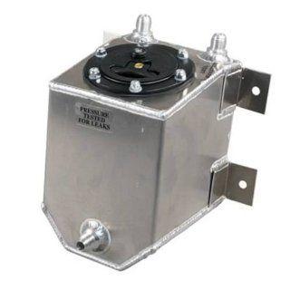 RCi 2010A Aluminum Fuel Cell, Natural Aluminum Color, 1 Gallon, 6L x