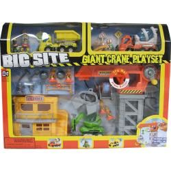 Keenway (Big site) Giant crane playset (with sound and light