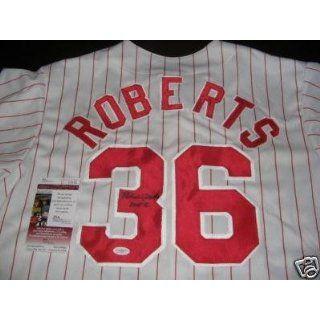 Robin Roberts Signed Jersey   hof Jsa coa   Autographed