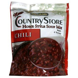 Williams Country Store Soup Mixes, Chili, 9.37 Ounce Packages (Pack of