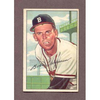 1952 Bowman #228 Bob Chipman Braves EX 170310 Kit Young