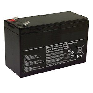 General 01280   12V 8Ah Sealed Emergency Light Battery (CF12V8 (WKA12