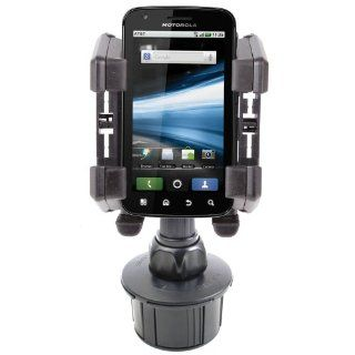 Durable & Anti Shock Vehicle Cup Holder Mount For Motorola