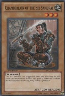 Yu Gi Oh!   Chamberlain of the Six Samurai (LCGX EN222