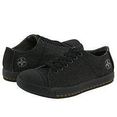 Dr. Martens Gwen Lace Up Shoe Black Denim/Teton