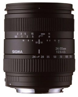 Sigma 24 135mm f/2.8 4.5 IF Autofocus Lens for Canon SLR